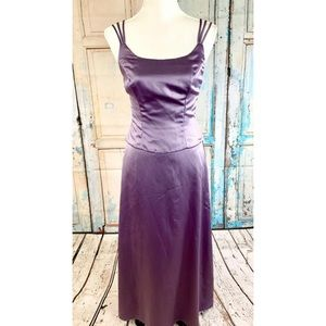 ALFRED ANGELO Strappy A-Line Bridesmaid Dress